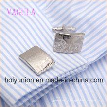 AAA Qualidade VAGULA Abotoaduras De Laser Presente Cuff Links De Luxo Dos Homens Cufflings