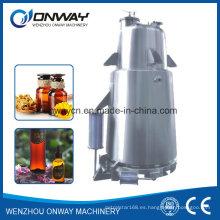 Tq de alta eficiencia de ahorro de energía destilación de vapor industrial máquina de destilación de la unidad de destilación de aceite esencial