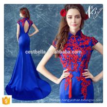 SCHLUSSVERKAUF!!!!! Blaues Fischschwanz-Abend-Kleid für Frauen-Weihnachtsfest 2016 reizvolles Frauen Bodycon Abend-Kleid