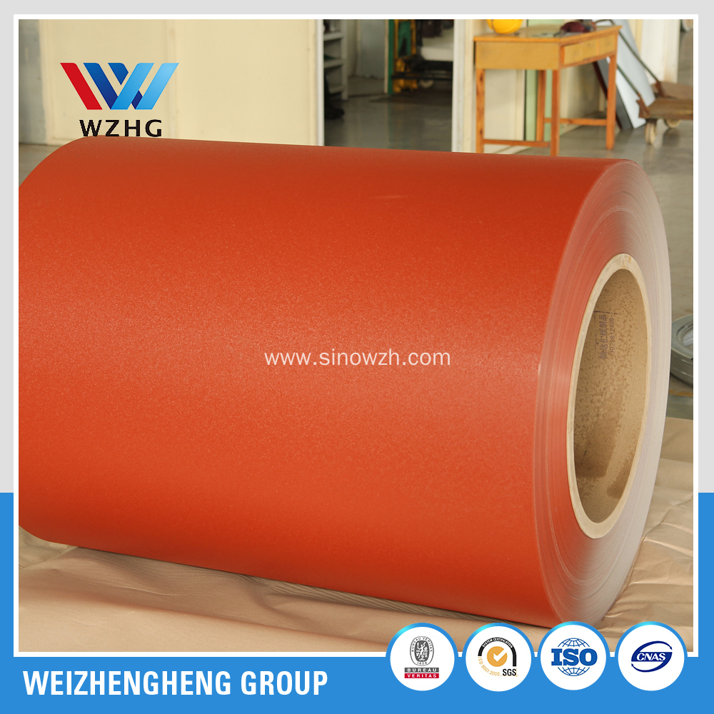 DX51D prepainted galvanized steel coil