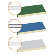 Linhas de produção de painéis de telhado / parede Wall Sandwich EPS