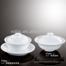 healthy japan style white special durable soup bowl