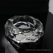 Approvisionnement d'usine prix attractif fashion image cendrier en cristal