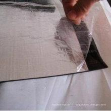 Feuille imperméable de toiture de bitume auto-adhésif avec le certificat d'OIN