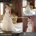 100% реальные фотографии на заказ трезвон кружева вышитые свадебное платье
