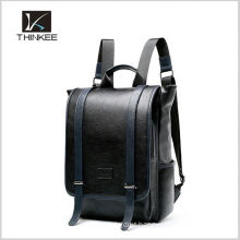 European outdoor crazy horse genuine leather camera backpack