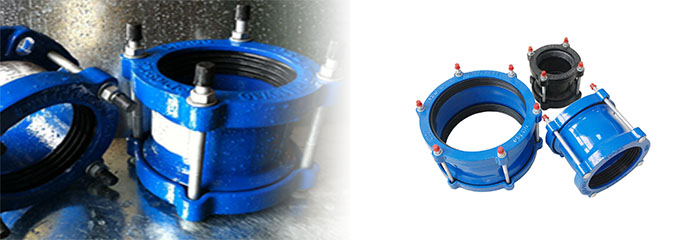 China manufacturer of pipe coupling ductile iron