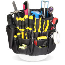 New Product Gardening Multi-Pocket Maintenance Tool Bucket Bag Multifunctional Garden Trim Storage Tool Bag