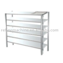 Stainless steel shelf for drain vegetable water
