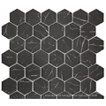 Marble mosaic tiles for wall decoration