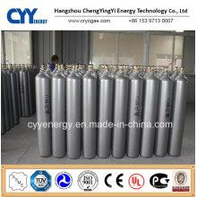 Niedriger Preis 50L Hochdruck Kohlendioxid Sauerstoff Stickstoff Argon Nahtloser Stahl Zylinder