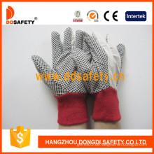 Gartenhandschuhe Weiß Polka DOT Handschuh (DCD201)