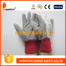 White Polka DOT Glove Dcd201