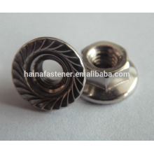 M16 Steel Hexagon Head Flange Nut