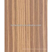 linha fina tulipa recon folheado de madeira