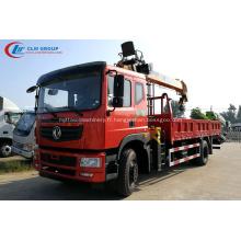 2019 Nouvel élévateur à flèche 8T monté sur camion Dongfeng