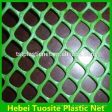 2016 bom preço Hexagonal nettings lisos de plástico verde