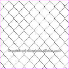9 galvanizado galvanizado o PVC revestido valla de enlace de cadena