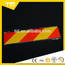 conspicuous reflective vehicle board, truck rear marking board