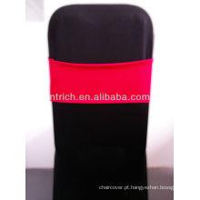 Linda faixa do Spandex, Lycra Sash, vermelho