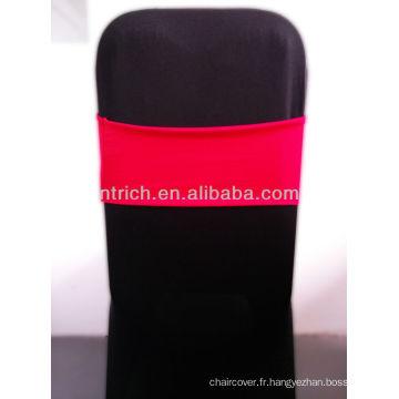 Superbe Spandex Sash, ceinture en Lycra, rouge