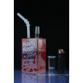 Liquid Juice Box Themed Rigs Glass Smoking Water Pipe (ES-GB-552)