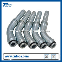 Metric high pressure stainless steel hose connectors