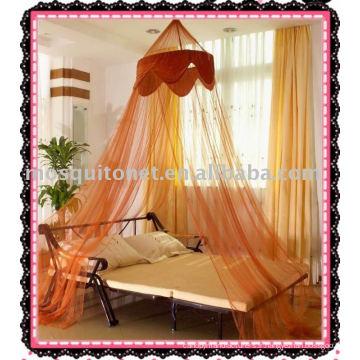 Canopée du lit coronaire impériale, canopée moustique