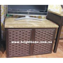 Meuble de télévision pour meuble en rotin Meuble pour appartement Bp-TV30