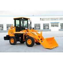45HP 2 Ton 0.5m3 Pequeño cargador, pequeño cargador de ruedas para la venta