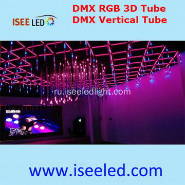 RGB DMX512 LED 3D Tube for Night Club