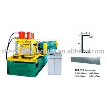 Manufacturer! Cold C shape steel roll forming machine,purlin roof forming machine,C steel purlin roll former