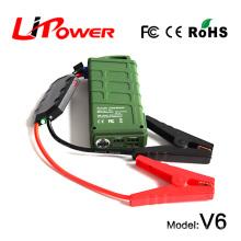 Производитель 14000mAh 12 вольт литиево-ионный аккумулятор 500a пик прыжок стартер со светодиодным генератором света