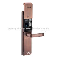 Finger lock, password lock with backup key/better environmental adaptability/especially dry winter
