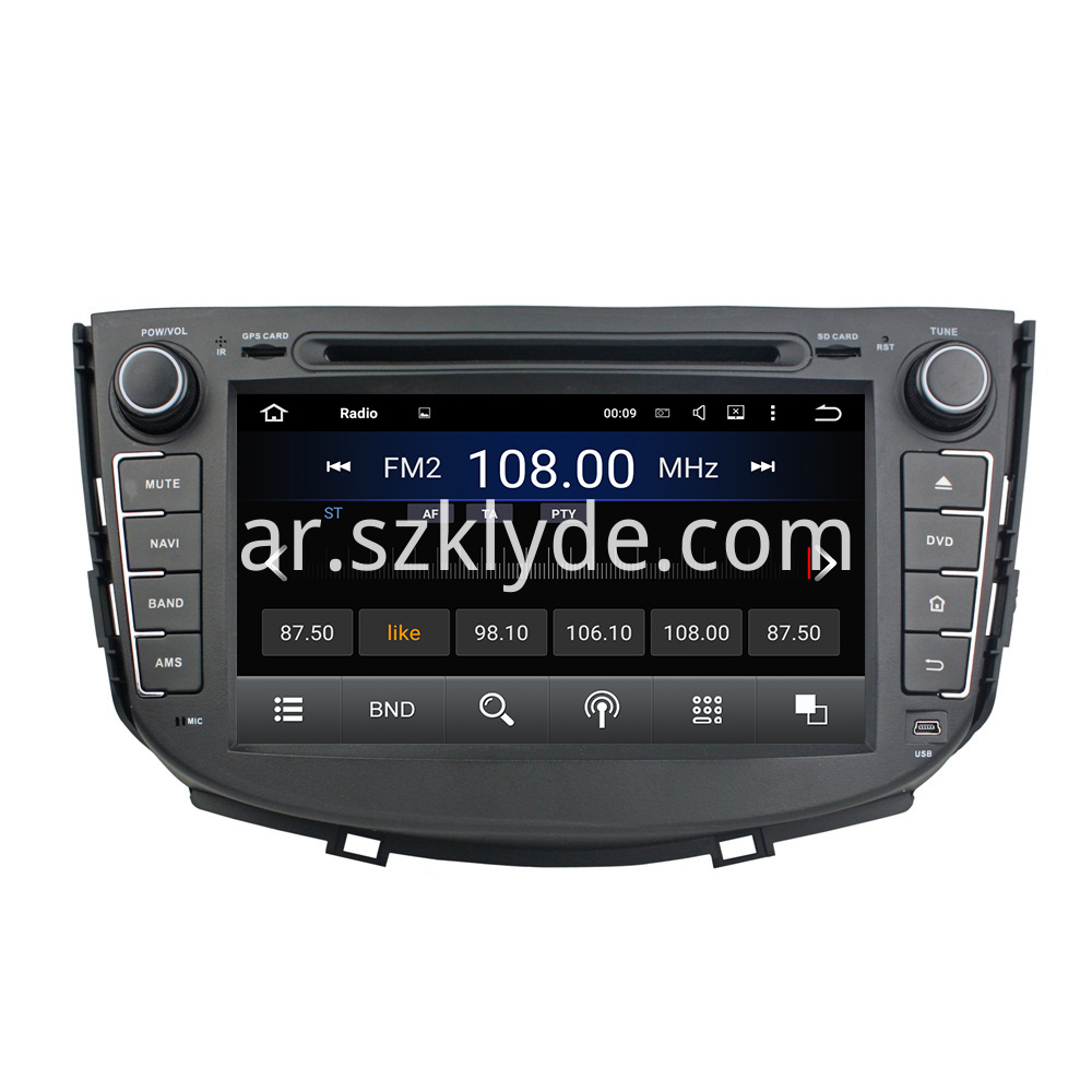 Android 5.1 LIFAN X60 Car Audio 004