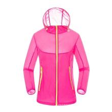 Women Outdoor Ultralight Jackets Sun UV Protective Waterproof Hiking Coat