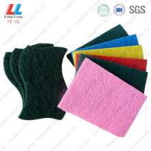 Magic crafted shape scouring pad