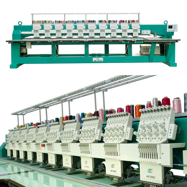 flat embroidery machine 2