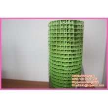 """Сварная сетка / зеленый ПВХ покрытие сетка / винил покрытием 1/4 """"сварной проволоки"""