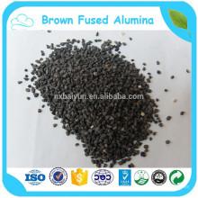 abrasifs brun alumine fondue pour traitement de surface