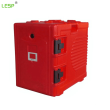 90L Food carrier, tableware equipment for food storage, insulated food transport cabinet