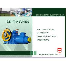 Máquina de engranaje de tracción para Elevaotr (SN-TMYJ100)