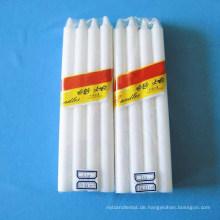 Rauchlose weiße Stock-Haushalts-helle Kerzen
