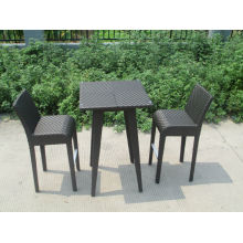 Home furniture wicker garden bar set