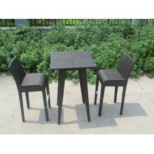 Conjunto de barra de jardim de vime para mobília para casa