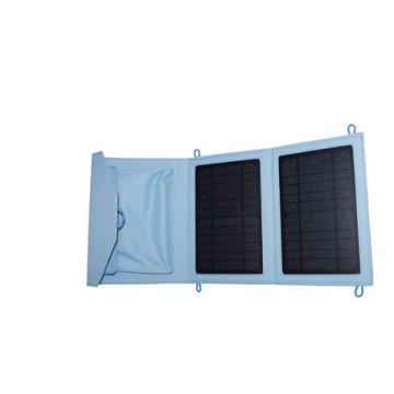 Carregador de telefone solar dobrável de 7W