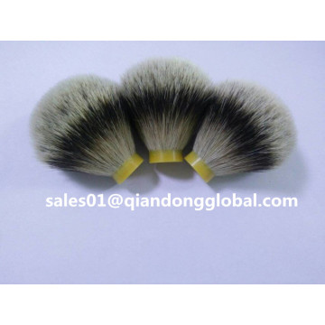 26mm Super Natural Silvertip Badger Hair Knot