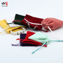 High-end simple velvet clutch bag
