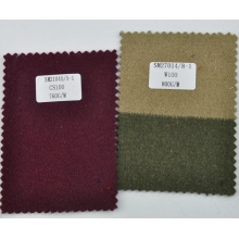 Wine color price of woven fabric 100% cashmere stock
