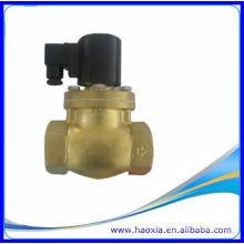 Válvula de solenóide de latão de 2 polegadas de venda quente para vapor